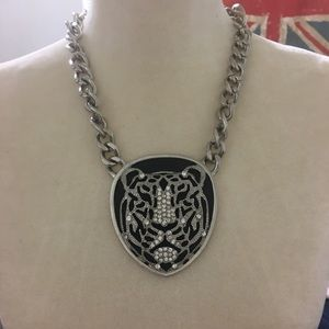 Jewelry - Giant Tiger's Head Medalion Necklace